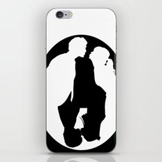 Pushing Daisies silhouette kiss iPhone & iPod Skin