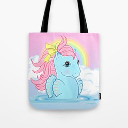 g1 my little pony seapony Tote Bag