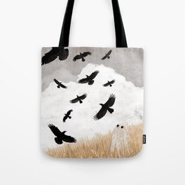 Walter and The Crows Tote Bag