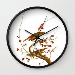 Hermit Thrush Bird Wall Clock