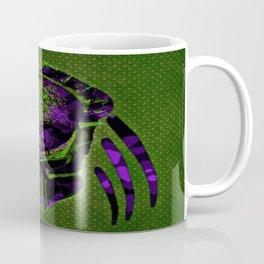 Soldier Predator Green Purple Coffee Mug