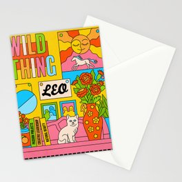 Leo Vintage Soul Stationery Cards
