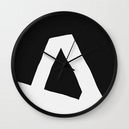 """""""A"""" Statement Wall Clock"""