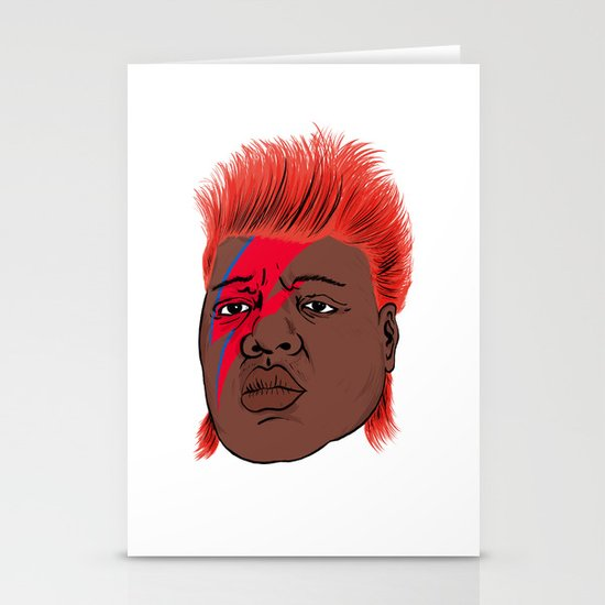 Biggie Stardust Stationery Cards