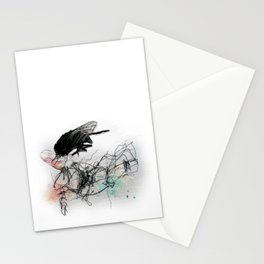Fly Head Stationery Cards