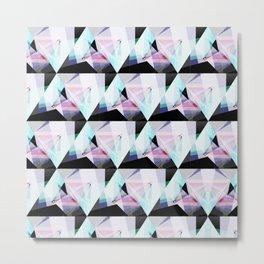 triangular pattern Metal Print