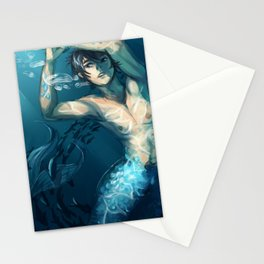 FREE! Haru Merman Stationery Cards