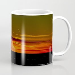 There's a Feeling I Get When I Look to the West #2 (Chicago Sunrise/Sunset Collection) Coffee Mug