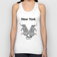 rat Tank Tops featuring Rat by Nick Bright