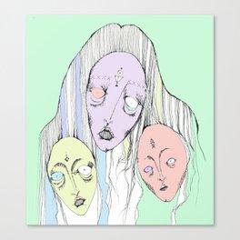 Triplets Canvas Print