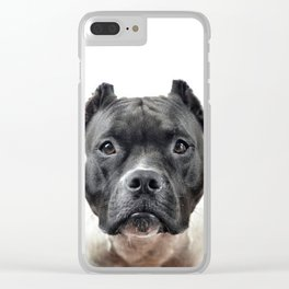 Mila of Troy (Portrait) Clear iPhone Case