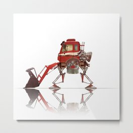 Rocket Loader Metal Print