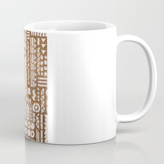 Northwoods Pattern. Coffee Mug