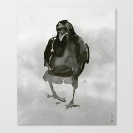 Common Crow [1] Canvas Print