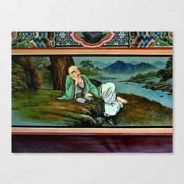 Life of Buddha ll Canvas Print