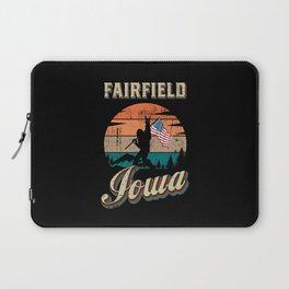 Fairfield Iowa Laptop Sleeve