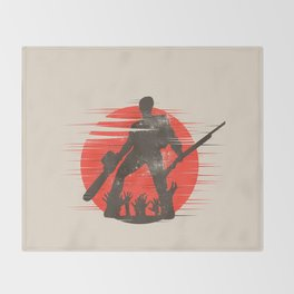 Wicked Rudeboy Throw Blanket