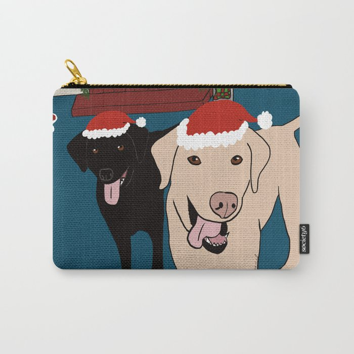 Labs Love Christmas! Carry-All Pouch