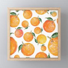 Rome Forest Oranges Framed Mini Art Print