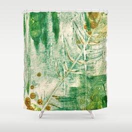 Overgrown Shower Curtain