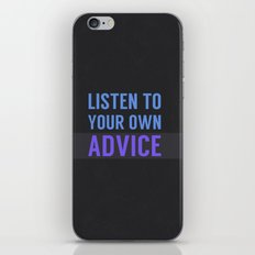 Listen Up iPhone & iPod Skin