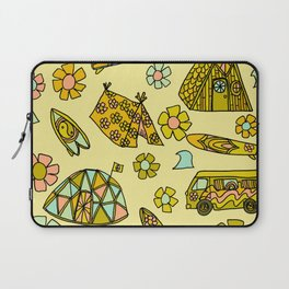 wanderlust // dream homes among the waves // surfy birdy art Laptop Sleeve