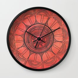 Risen Wall Clock
