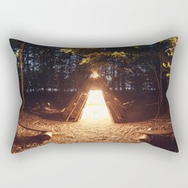 Light of the Teepee Rectangular Pillow