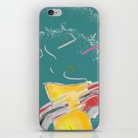 fishing iPhone & iPod Skins featuring FISHING by  ECOLARTE