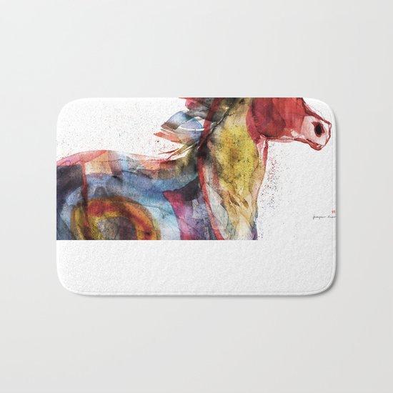 Horse (Running Happiness Detail) Bath Mat