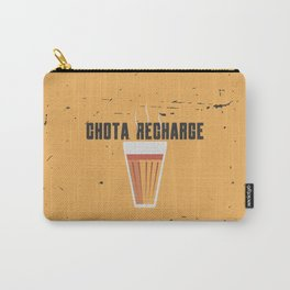 Funny Chai Hindi Quote Carry-All Pouch