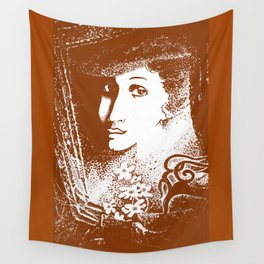 Lady. Old portrait Wall Tapestry