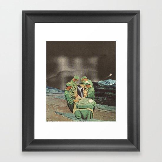 psychic surgeons Framed Art Print