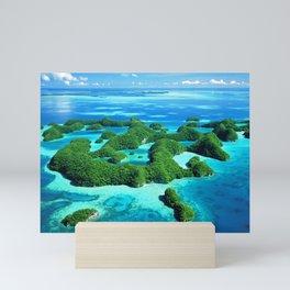 Palau Island Paradise Mini Art Print