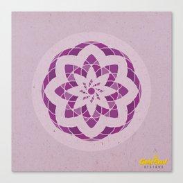 Crown Chakra Mandala Canvas Print