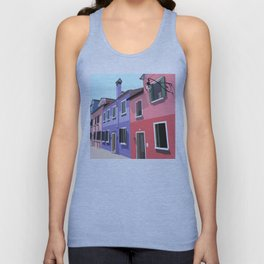 Burano houses Unisex Tank Top