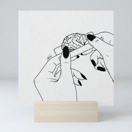 Rolling your mind. Mini Art Print