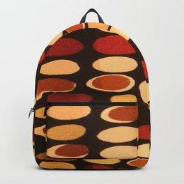 Irregular circles - ethnic theme Backpack