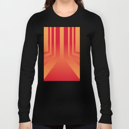 Streets on fire Long Sleeve T-shirt