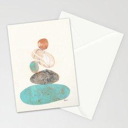 Pebbled Balance II Stationery Cards