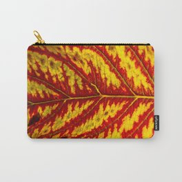 Tiger Leaf Carry-All Pouch