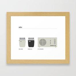 BRAUN Framed Art Print