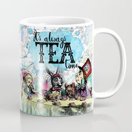 Alice in Wonderland - Tea Time Coffee Mug