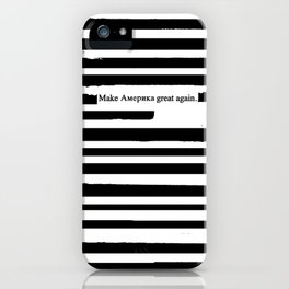 Alternative Facts Cyrillic iPhone Case