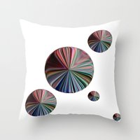 circle Throw Pillows featuring circle by  Agostino Lo Coco