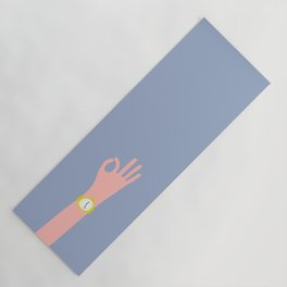 Cool Hand Illustration Yoga Mat
