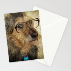 Hipster Dog Stationery Cards