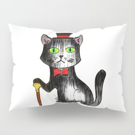 Sir Cat Pillow Sham