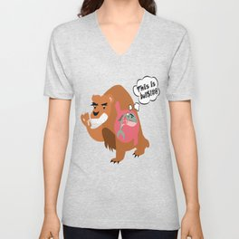 The Food Chain Unisex V-Neck