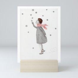 Picture Four:  The Snowflake Mini Art Print